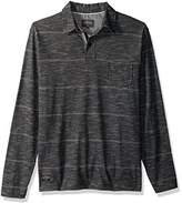 Quiksilver Waterman Men's Home Team Long Sleeve Polo Shirt