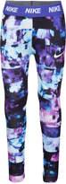 Nike Dri-fit Floral-Print Leggings, Little Girls (4-6X)