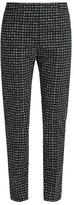 Tomas Maier Urban Grid-print slim-leg trousers