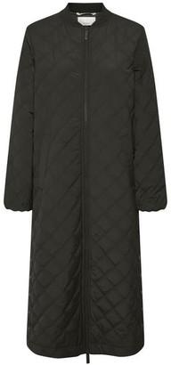 Part Two - Edith Black Padded Coat - DK34-UK8
