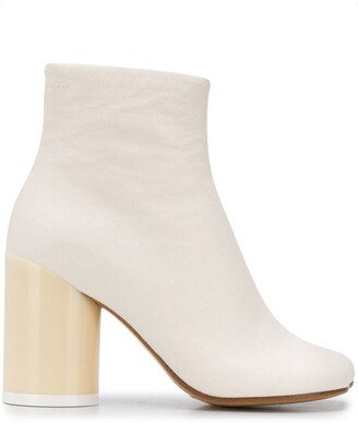 MM6 MAISON MARGIELA Anatomic-Toe Ankle Boots