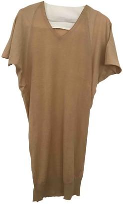 Humanoid Beige Cotton Top for Women