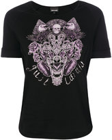Just Cavalli tiger head print T-shirt