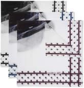 Massimo Alba Set Of Three Printed Handkerchiefs - Multi