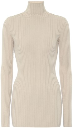 MM6 MAISON MARGIELA Ribbed turtleneck sweater