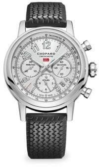 Chopard Mille Miglia Stainless Steel& Rubber Strap Watch