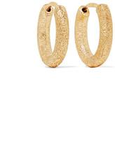 Carolina Bucci 18-karat Gold Hoop Earrings - one size