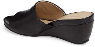 David Tate Mint Wedge Slide Sandal