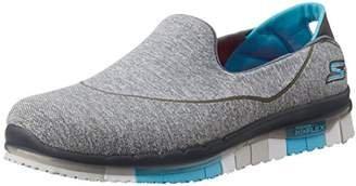 Skechers SKEES) Women's Go Flex Low-Top Sneakers, Grey (Gris/Bleu)