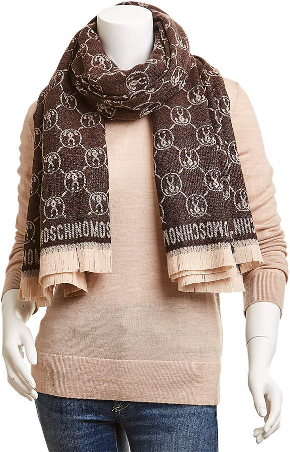 0c8f0e2b97 Moschino Wool Women's Scarves - ShopStyle