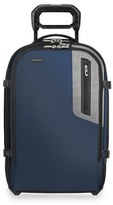 Briggs & Riley Men's 'Brx - Explore' Domestic Wheeled Carry-On - Blue