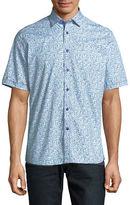 Horst Slim Fit Ditsy Floral Shirt