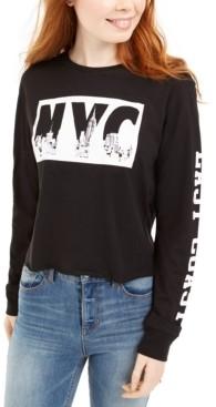 Freeze 24-7 Trendy Plus Size Nyc Long-Sleeve T-Shirt