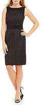 Preston & York Carrie Jacquard Suiting Dress