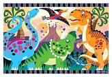 Melissa & Doug ; Dinosaur Dawn Floor Puzzle