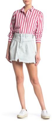 Free People Sidecar Denim Miniskirt