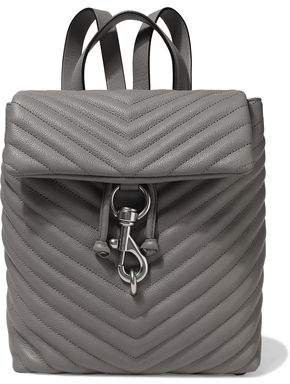 Rebecca Minkoff Edie Quilted Textured-leather Backpack