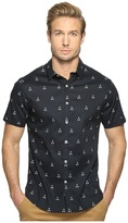 7 Diamonds Hazards of Love Short Sleeve Shirt Men's Short Sleeve Button Up