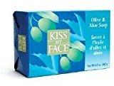 Kiss My Face Soap Bar Olive & Aloe 8oz (3 Pack)