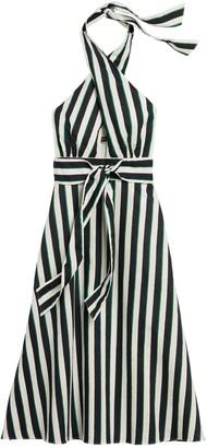 Banana Republic Linen-Cotton Halter Dress