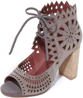 Jeffrey Campbell Cordia Peep Toe Booties