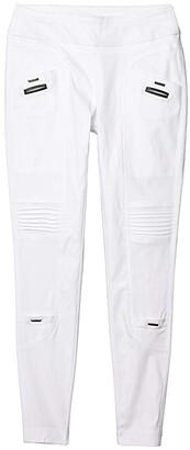 Jamie Sadock Skinnylicious Ankle Pants with Control Top Panel (Sugar White) Women's Casual Pants