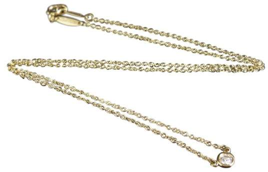 Tiffany & Co. 18K Yellow Gold and Diamonds Necklace