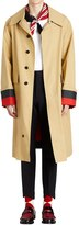 Burberry Ss18 Bonded Gabardine Trench Coat