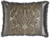 Dian Austin Couture Home Standard Penthouse Suite Damask Sham with Silk Sides