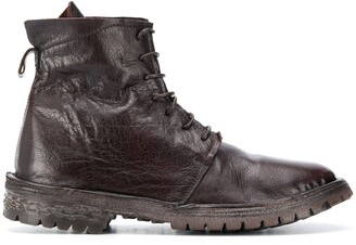 Moma Combat lace-up boots
