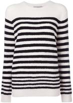 Vince striped jumper - women - Polyamide/Wool - XS