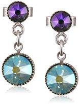 Konplott Waterfalls Brass Glass Multi Women's Earrings – 5450543307572