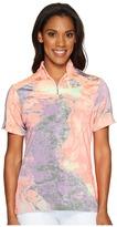 Jamie Sadock - Lava Print Mid Short Sleeve Top Women's Clothing