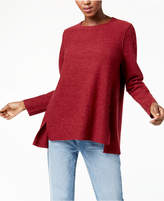 Eileen Fisher Wool High-Low Sweater, Regular & Petite