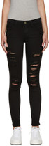 Frame Black Le Color Ripped Jeans