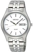 Seiko Men's Stainless Steel Solar Bracelet Watch