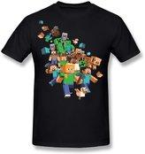 LDMH Men's Minecraft Tee Shirt