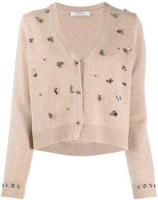 Dorothee Schumacher Modern Opulence bead-embellished cardigan