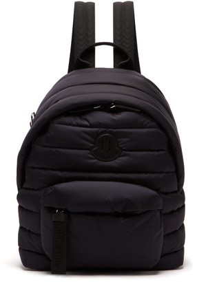 Moncler Quilted Backpack - Mens - Navy