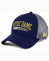 Under Armour Notre Dame Fighting Irish Birds Eye Mesh Trucker Cap