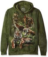 The Mountain Men's Jungle Tigers Hooded Sweatshirt