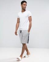 Tommy Hilfiger Logo Sweat Shorts Grey