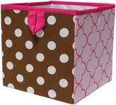 Bacati Butterflies/Ladybugs Storage Box