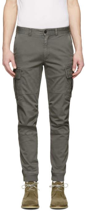 Belstaff Grey Forge Cargo Pants