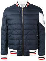 Moncler Gamme Bleu padded bomber jacket - men - Nylon/Polyamide/Cupro - 1