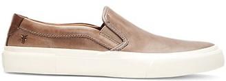 Frye Ludlow Slip-On Leather Sneakers