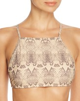 Sofia by Vix Skin Halter Bikini Top