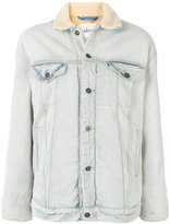 Levi's Made & Crafted shearling trim denim jacket