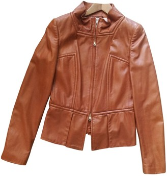 BOSS Brown Leather Jackets
