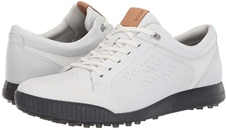 Ecco Street Retro LX (Bright White) Men's Golf Shoes